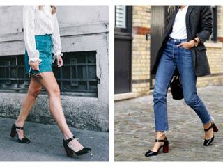 Mary Jane shoes: Η chic επιλογή στο look σας
