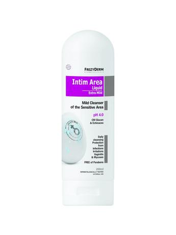 Frezyderm Intim Area Liquid Extra Mild pH4.0 Απαλό Yγρό Kαθαριστικό της