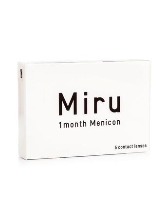 Menicon Miru (6 φακοί) Μηνιαίοι Μυωπίας Υπερμετρωπίας