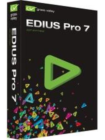 EDIUS PRO 7 UPGRADE RETAIL BOX FROM EDIUS PRO 6.5