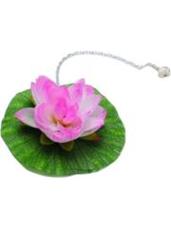 LOTUS LEAF FLOATING BATH PLUG WHITE