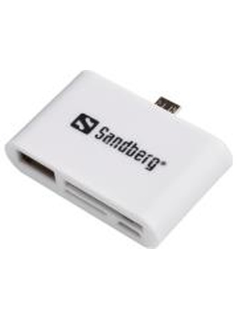 SANDBERG OTG CARD READER