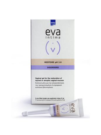 Eva Restore Gel Κολπική Γέλη με Υαλουρονικό Οξύ για τη Επούλωση