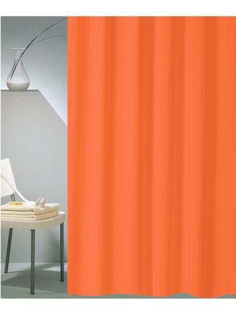 Κουρτίνα Μπάνιου (180x200) San Lorentzo Solid Orange