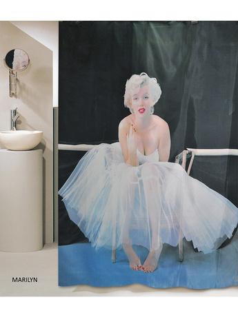Κουρτίνα Μπάνιου Υφασμάτινη San Lorentzo Marilyn