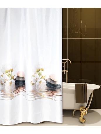 Κουρτίνα Μπάνιου Υφασμάτινη (180x180) San Lorentzo Harmony