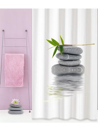 Κουρτίνα Μπάνιου Υφασμάτινη San Lorentzo Zen