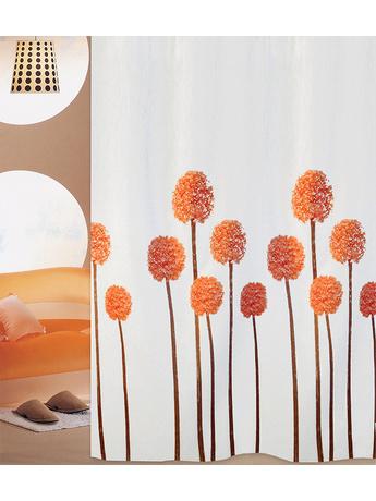 Κουρτίνα Μπάνιου (240x180) San Lorentzo Lavender Orange