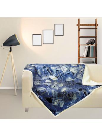 Κουβέρτα Καναπέ Das Home Fleece Digital 370