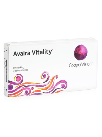 CooperVision Avaira Vitality (3 φακοί) Δεκαπενθήμεροι Μυωπίας Υπερμετρωπίας
