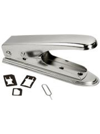 LOGILINK WZ0026 2 IN 1 SIM CARD CUTTER SILVER/CHROME