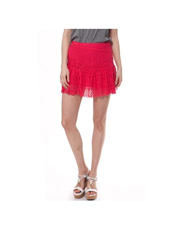 JUICY COUTURE - Γυναικεία φούστα Juicy Couture φούξια-κοραλί