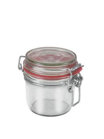 Γυάλινο Βάζο Με Κλιπ 125ml Metaltex - METALTEX - 16-235370