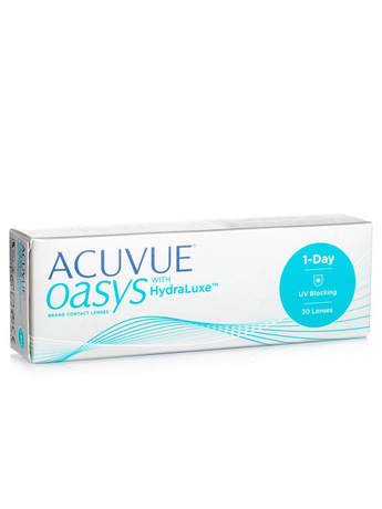 Johnson & Johnson Acuvue Oasys 1-Day with HydraLuxe (30 φακοί) Ημερήσιοι