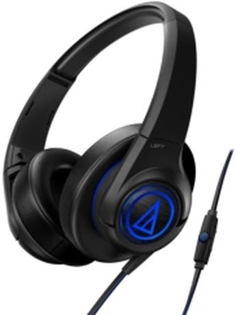 AUDIO TECHNICA ATH-AX5IS SONICFUEL OVER-EAR HEADPHONES FOR SMARTPHONES BLACK