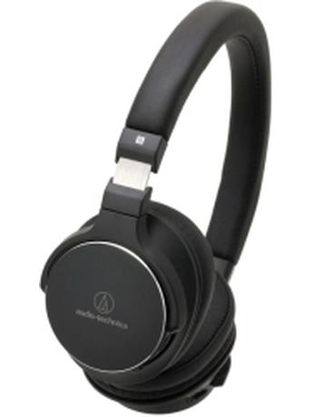AUDIO TECHNICA ATH-SR5BTBK WIRELESS ON-EAR HIGH-RESOLUTION AUDIO HEADPHONES BLACK