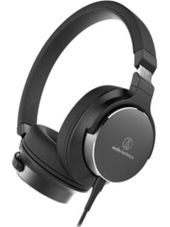 AUDIO TECHNICA ATH-SR5BK ON-EAR HIGH-RESOLUTION AUDIO HEADPHONES BLACK