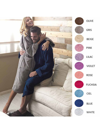 Μπουρνούζι Palamaiki Premium Bathrobe Pearl MEDIUM MEDIUM