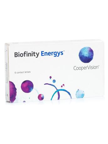 CooperVision Biofinity Energys 6 Μηνιαίοι Φακοί Φακοί επαφής για ύπνο Μυωπίας