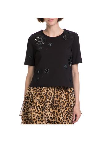 JUICY COUTURE - Γυναικεία μπλούζα JUICY COUTURE μαύρη