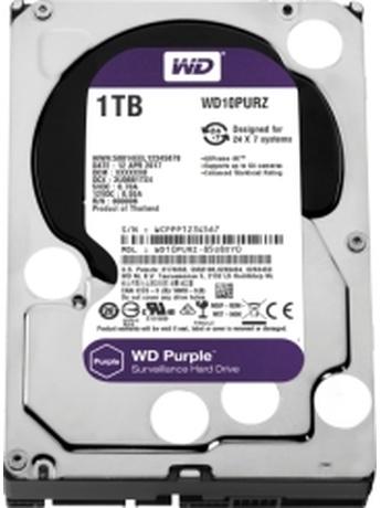 HDD WESTERN DIGITAL WD10PURZ 1TB PURPLE SURVEILLANCE SATA3