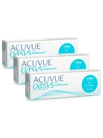 Johnson & Johnson Acuvue Oasys 1-Day with HydraLuxe (90 φακοί) Ημερήσιοι