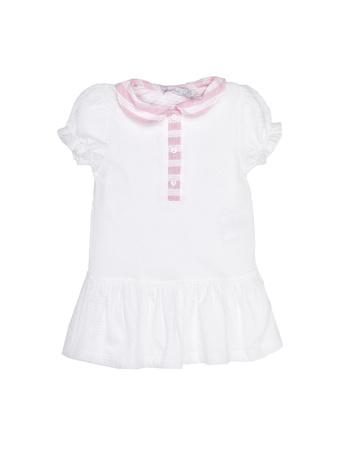 PATACHOU - Παιδικό φόρεμα PATACHOU άσπρο