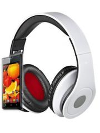 REBELTEC AUDIOFEEL2 HEADPHONES WITH MIC WHITE