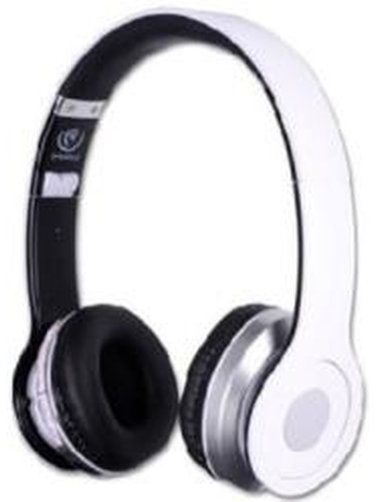 REBELTEC CRYSTAL BLUETOOTH HEADSET WHITE
