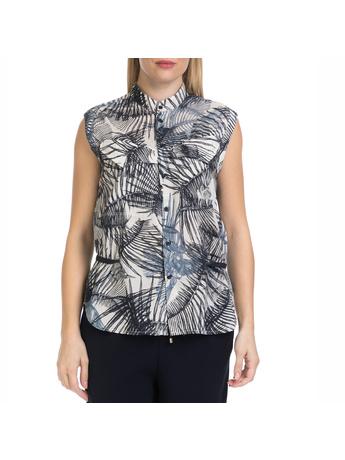 G-STAR - Γυναικείο αμάνικο πουκάμισο Rovic G-STAR εμπριμέ