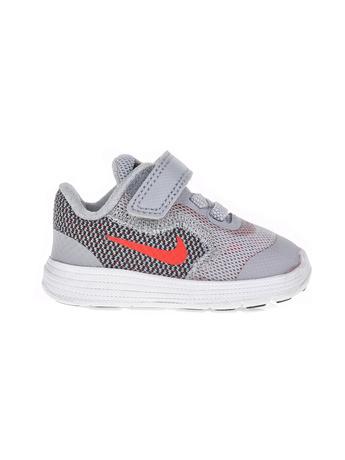 NIKE - Βρεφικά παπούτσια NIKE REVOLUTION 3 (TDV) γκρι