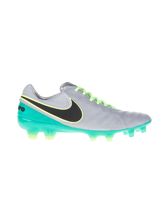 NIKE - Ανδρικά ποδοσφαιρικά παπούτσια ΝΙΚΕ TIEMPO LEGEND VI FG λευκά-μπλε