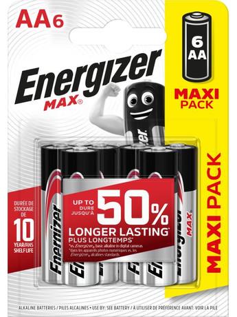 Energizer 6xAA (4,99€)