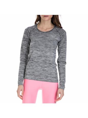NIKE - Γυναικεία αθλητική μπλούζα Nike γκρι