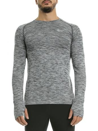 NIKE - Αθλητική μακρυμάνικη μπλούζα Nike γκρι