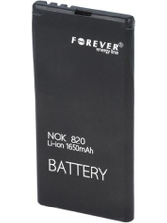 FOREVER BATTERY FOR NOKIA LUMIA 820 1650MAH LI-ION HIGH CAPACITY