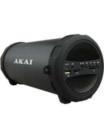 AKAI ABTS-11B PORTABLE 2.1 BLUETOOTH SPEAKER 10W WITH USB/FM/AUX/SD CARD