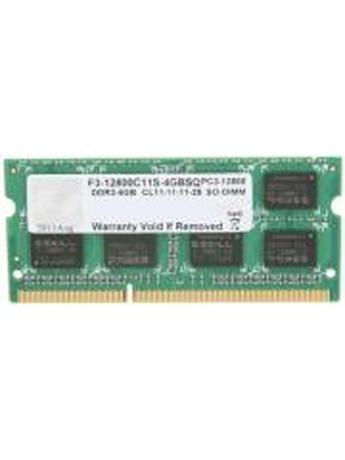 RAM G.SKILL F3-12800CL11S-4GBSQ 4GB SO-DIMM DDR3 PC3-12800 1600MHZ