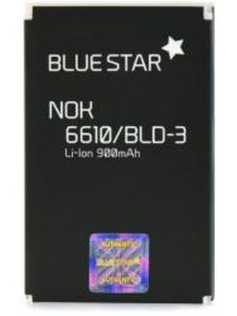 BLUE STAR BATTERY FOR NOKIA 6610/3200/7250 900MAH