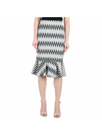 GUESS - Μίντι φούστα GUESS HALIMA με μοτίβο
