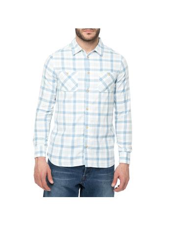 6047bec13275 FUNKY BUDDHA καρο πουκαμισο στην κατηγορία ανδρικά πουκάμισα ...