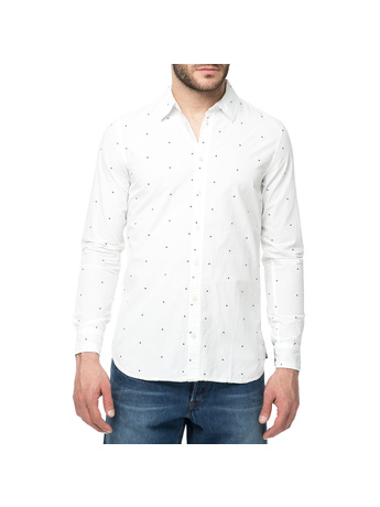 598d3004d1a8 FUNKY BUDDHA - Ανδρικό μακρυμάνικο καρό πουκάμισο FUNKY BUDDHA ...
