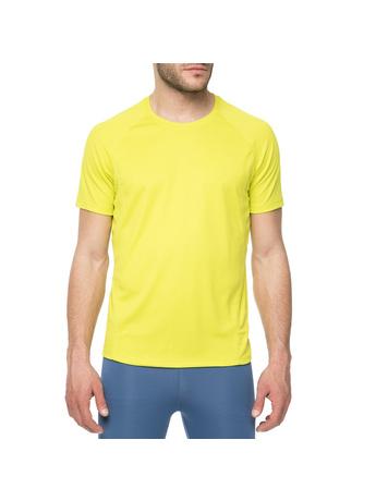 BODYTALK - Ανδρικό αθλητικό t-shirt Bodytalk TECH κίτρινο