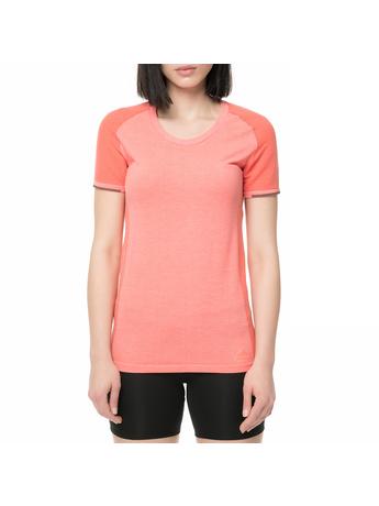 adidas performance - Γυναικείο t-shirt για τρέξιμο Primeknit ροζ