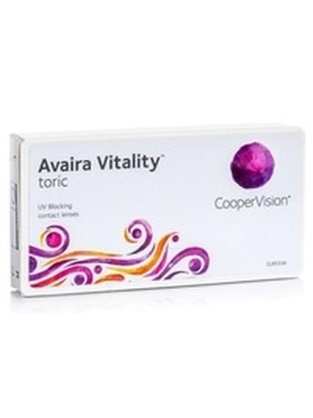 CooperVision Avaira Vitality Toric (3 φακοί) Δεκαπενθήμεροι Μυωπίας Υπερμετρωπίας Αστιγματικοί