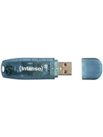 INTENSO 3502450 RAINBOW LINE 4GB USB2.0 FLASH MEMORY BLUE