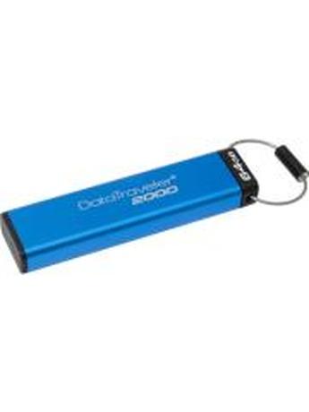KINGSTON DT2000/64GB DATATRAVELER 2000 USB3.1 ENCRYPTED KEYPAD DRIVE