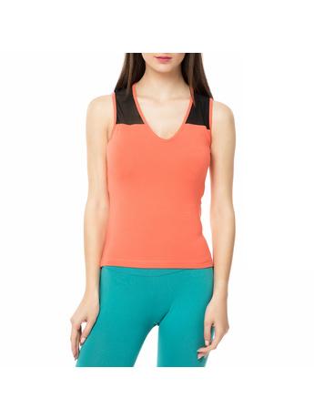 BODYTALK - Γυναικεία αμάνικη μπλούζα WAGW πορτοκαλί