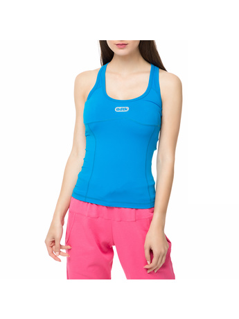 BODYTALK - Γυναικεία αμάνικη μπλούζα SHAPEW μπλε