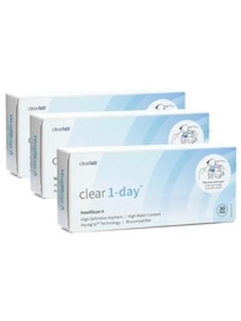 ClearLab Clear 1-day (90 φακοί) Ημερήσιοι Μυωπίας Υπερμετρωπίας